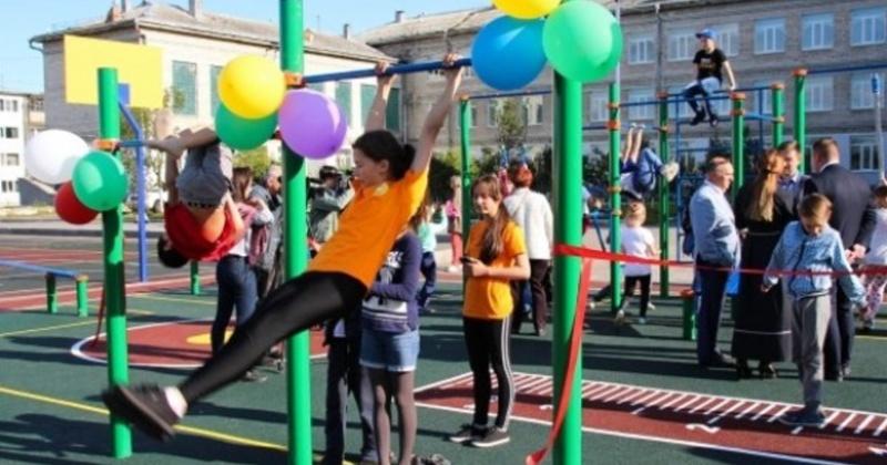 В Магаданской области при содействии проекта «Детский спорт» создается спортивная инфраструктура