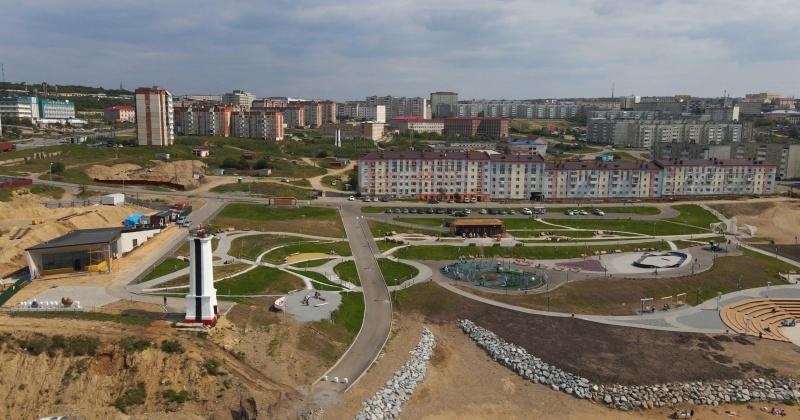 Почти 258 миллионов рублеи получит Магаданская область на продолжение строительства парка «Маяк»