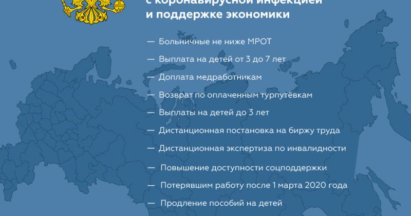 Помощь федерального правительства населению в период пандемии все еще действует