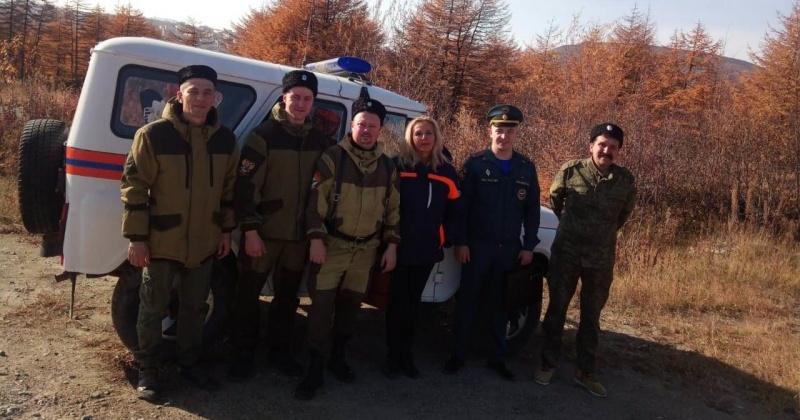 В выходные дни сотрудники МЧС снова проинспектировали места отдыха жителей Магадана