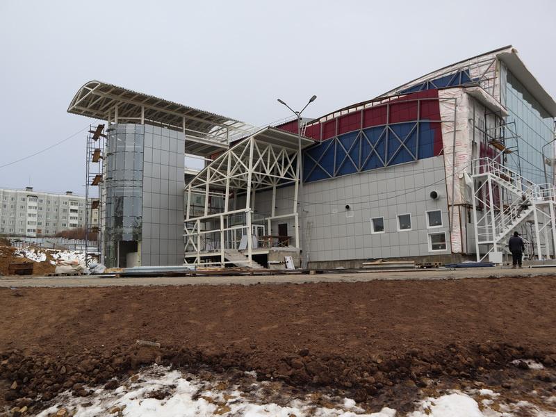Всего месяц остался до того момента, когда новый бассейн в Магадане будет сдан