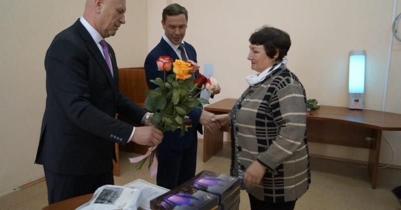Сотрудники санатория «Талая» благодарят Александра Басанского и за все те начинания, которые ведут колымскую здравницу к возрождению