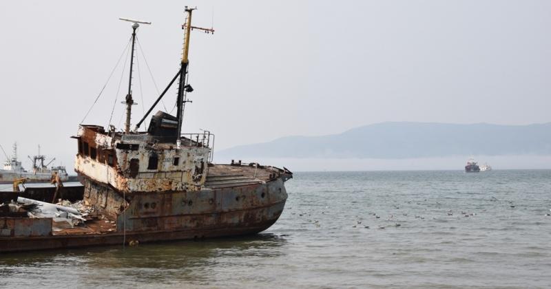 Роман Исаев предложил варианты решения проблемы подъема затонувших судов со дна Нагаевской бухты
