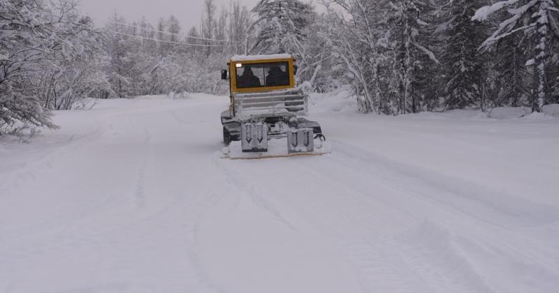 Лыжные трассы Магадана корректируют после снегопада
