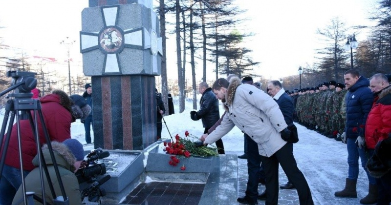 Сегодня в Магадане традиционно почтут память погибших в вооруженном конфликте в Чеченской республике