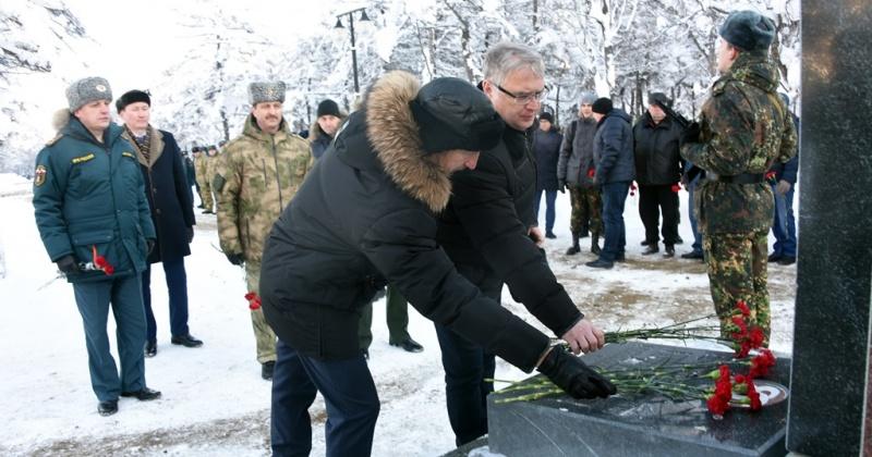 В Магадане  почтили память погибших в Чечне