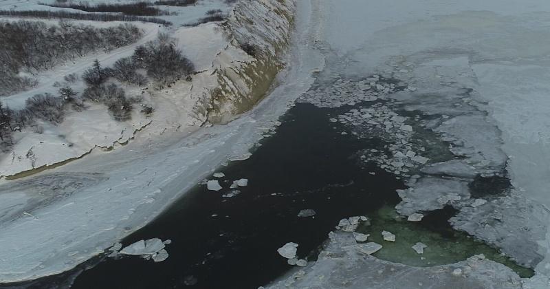 В Магадане за состоянием ледовой обстановки следят с помощью беспилотников