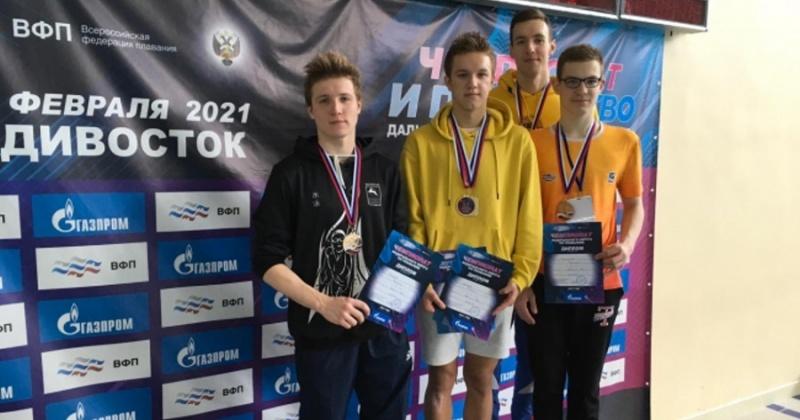Магаданские спортсмены – победители и призеры чемпионата и первенства Дальневосточного Федерального округа по плаванию