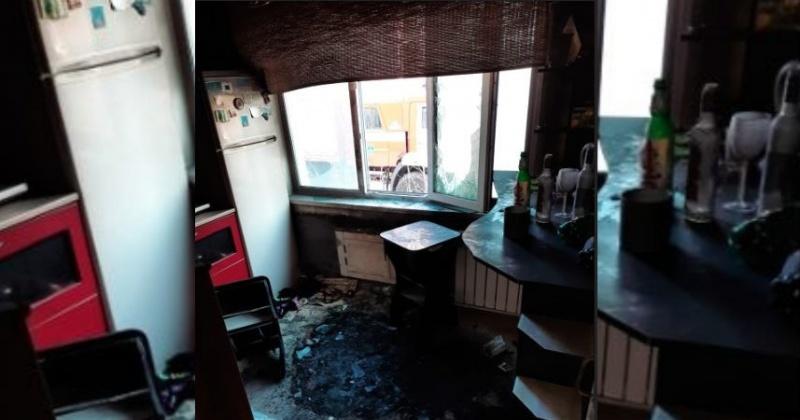 Магаданские огнеборцы спасли мужчину при возгорании на кухне однокомнатной квартиры