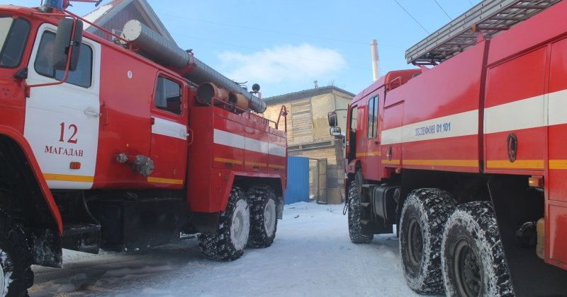 При ликвидации загорания в селе Талон пожарные эвакуировали человека