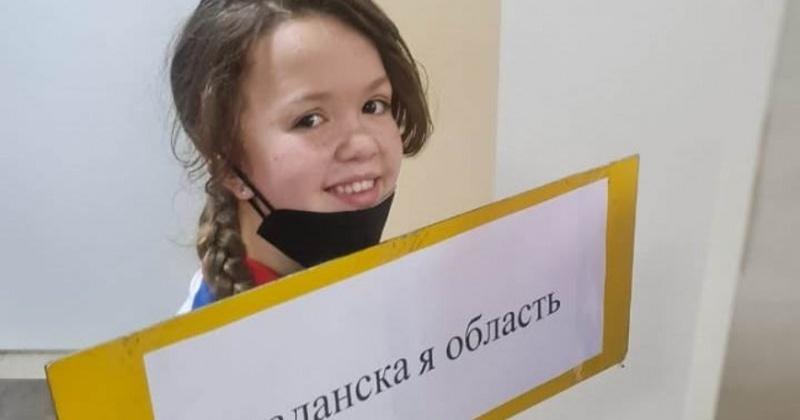 Магаданка Арина Файзулина выступила на Чемпионате России, выполнив норматив звания «Мастера спорта России»