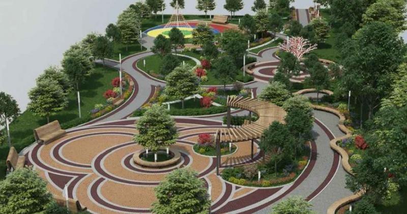 В Сеймчане установят детские площадки, мемориальный комплекс и благоустроят парк