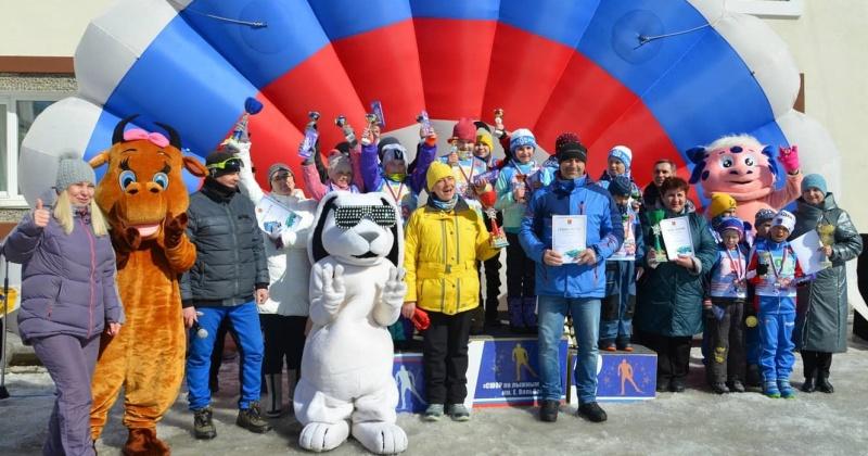 Виктория Голубева наградила победителей традиционных соревнований по лыжному спорту на Кубок Магаданской городской Думы