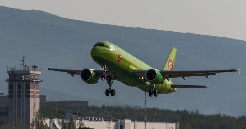 Самолёт из Магадана экстренно сел в Братске