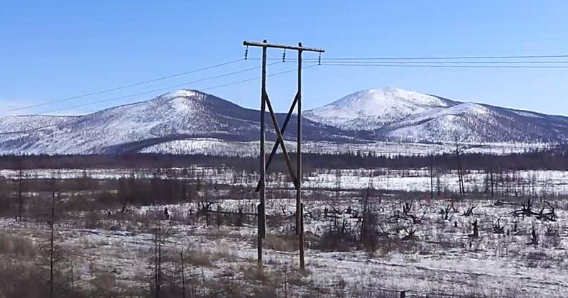 Специалисты Магаданэнерго реконструируют воздушную линию  «Нера-Тонор» в Якутии.