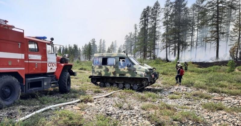 В Магаданской области полыхают 39 природных пожаров на площади свыше 195 тысяч гектаров