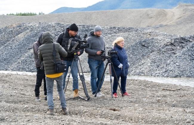 В Магаданской области группа телеканала «Культура» работала над документальным фильмом