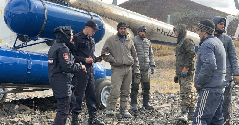 Пятерых иностранцев задержали в одной из заброшенных шахт