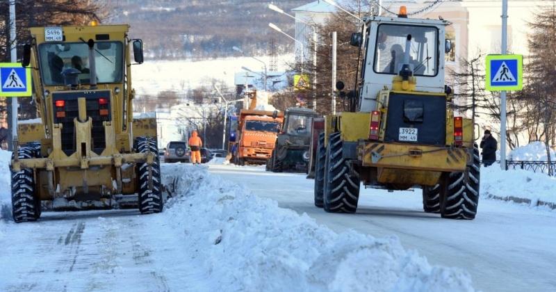 Использование соли на зимних дорогах Колымы планируют сократить в два раза